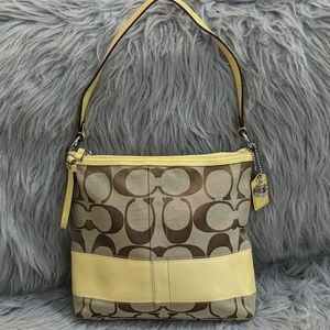 Coach Colorblock Shoulder Bag